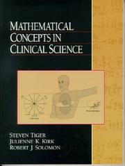 Cover of: Mathematical Concepts in Clinical Science