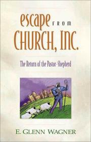 Cover of: Escape from Church, Inc.