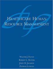 Cover of: Healthcare Human Resource Management
