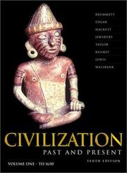 Cover of: Civilization Past & Present, Vol. 1