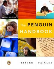 Cover of: Penguin Handbook (clothbound), The (with Essential Study Card for Grammar and Documentation)