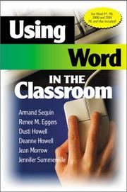 Cover of: Using Word in the Classroom