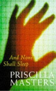 Cover of: And None Shall Sleep (Macmillan Crime)