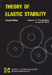 Cover of: Theory of Elastic Stability