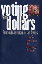 Cover of: Voting with dollars