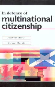 Cover of: In Defence of Multinational Citizenship