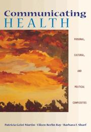 Cover of: Communicating Health