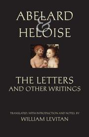 Cover of: The Letters and Other Writings