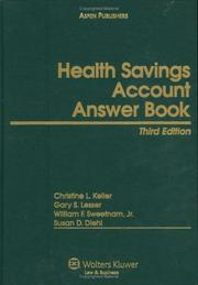 Cover of: Health Savings Account Answer Book, Third Edition