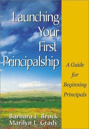 Cover of: Launching Your First Principalship