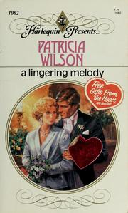 Cover of: A Lingering Melody