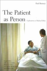 Cover of: The Patient as Person, Second edition