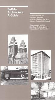 Cover of: Buffalo Architecture