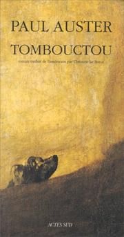 Cover of: Tombouctou
