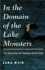 Cover of: In the Domain of the Lake Monsters