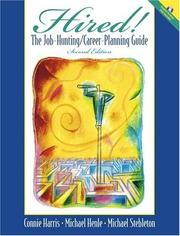 Cover of: Hired! The Job-Hunting/Career-Planning Guide with Portfolio Disk (2nd Edition)