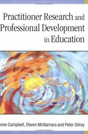 Cover of: Practitioner Research and Professional Development in Education