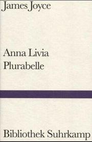 Cover of: Anna Livia Plurabelle: fragment of Work in progress.