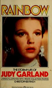 Cover of: Rainbow: The Stormy Life of Judy Garland