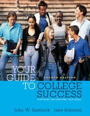 Cover of: Thomson Advantage Books: Your Guide to College Success