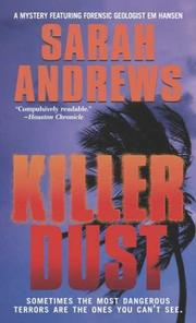 Cover of: Killer Dust (An Em Hansen Mystery)