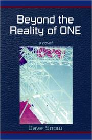 Cover of: Beyond the Reality of One