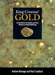 Cover of: King Croesus' Gold