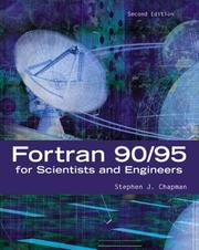 Cover of: Fortran 90/95 for Scientists and Engineers