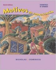 Cover of: Motivos de conversacion with Listening Comprehension CD and Student CD-ROM