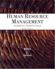 Cover of: Thomson Advantage Books: Human Resource Management