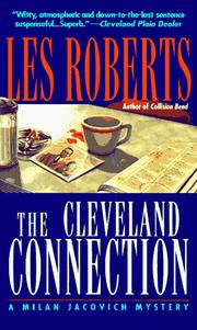 Cover of: The Cleveland Connection (A Milan Jacovich Mystery)