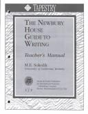 Cover of: The Newbury House Guide To Writing Instructors Manual :