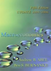 Cover of: Macroeconomics Update Edition plus MyEconLab in CourseCompass (5th Edition) (Addison-Wesley Series in Economics)