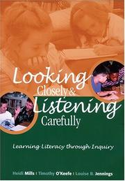 Cover of: Looking Closely and Listening Carefully
