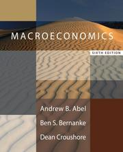 Cover of: Macroeconomics plus MyEconLab plus eBook 1-semester Student Access Kit (6th Edition) (MyEconLab Series)