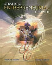 Cover of: Strategic Entrepreneurial Growth