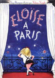 Cover of: Eloise a Paris (Eloise in Paris) French Edition