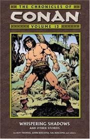 Cover of: The Chronicles Of Conan Volume 13