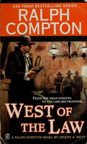 Cover of: Ralph Compton West of the Law