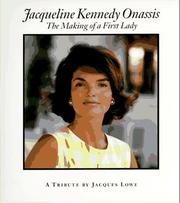 Cover of: Jacqueline Kennedy Onassis