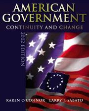 Cover of: American Government 2002