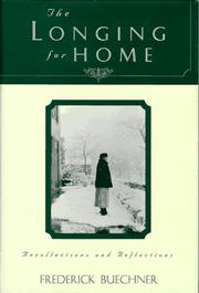 Cover of: The longing for home