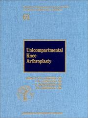 Cover of: Unicompartmental Knee Arthroplasty