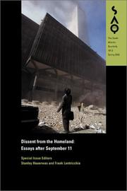 Cover of: Dissent from the homeland