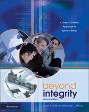 Cover of: Beyond Integrity