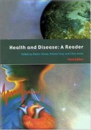Cover of: Health and disease