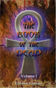 Cover of: The Book of the Dead