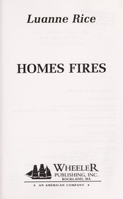 Cover of: Home fires