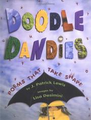Cover of: Doodle dandies: Poems That Take Shape