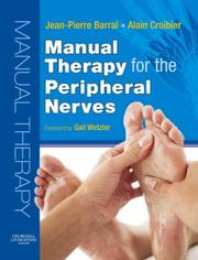 Cover of: Manual Therapy for the Peripheral Nerves